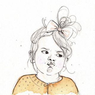 #matagada #capucine #popidibou #lesptiteschosesdepopidibou #croquis #dessin #portrait #aquarelle #triptyque #expressive #bouille #frimousse #enfance #surmesure #illustration #illustratrice #petite #petitefille