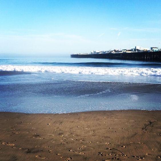 Santa Cruz CA: Fun day at the beach  by hazelbean22