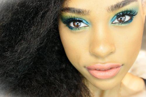 eye makeup ..