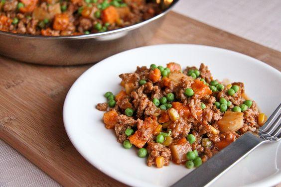 Turkey and potato skillet