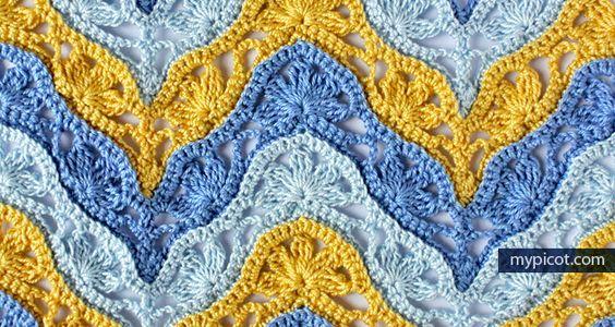 MyPicot | Free crochet patterns | Funtime | Pinterest | Beautiful ...