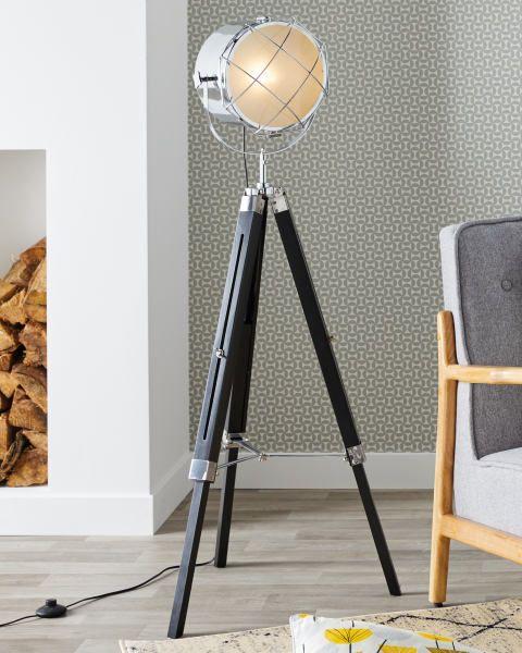 Pin On Home Inspiration, Tripod Spotlight Floor Lamp Aldi