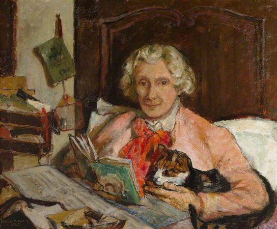 Clare Atwood (1866–1962) - Edith Ailsa Craig (1869–1947). 1943.  National Trust, Smallhythe Place