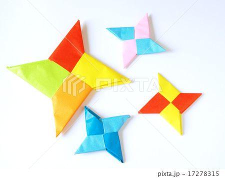 ハート 折り紙 折り紙で手裏剣 : pinterest.com