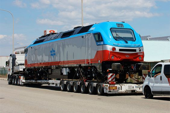on 10 06 2013 the first euro3200 locomotive painted in the colours of ...