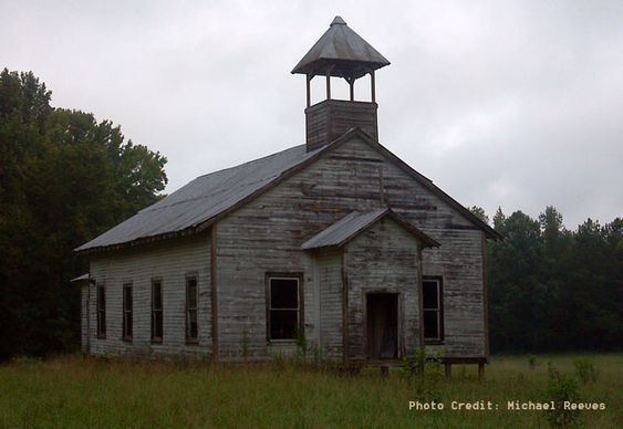 The color purple update church carolina in my mind for Updating an old house