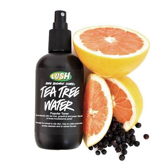 LUSH: Tea Tree Water, 250 ml (Toner)  Erfrischung für morgens :)