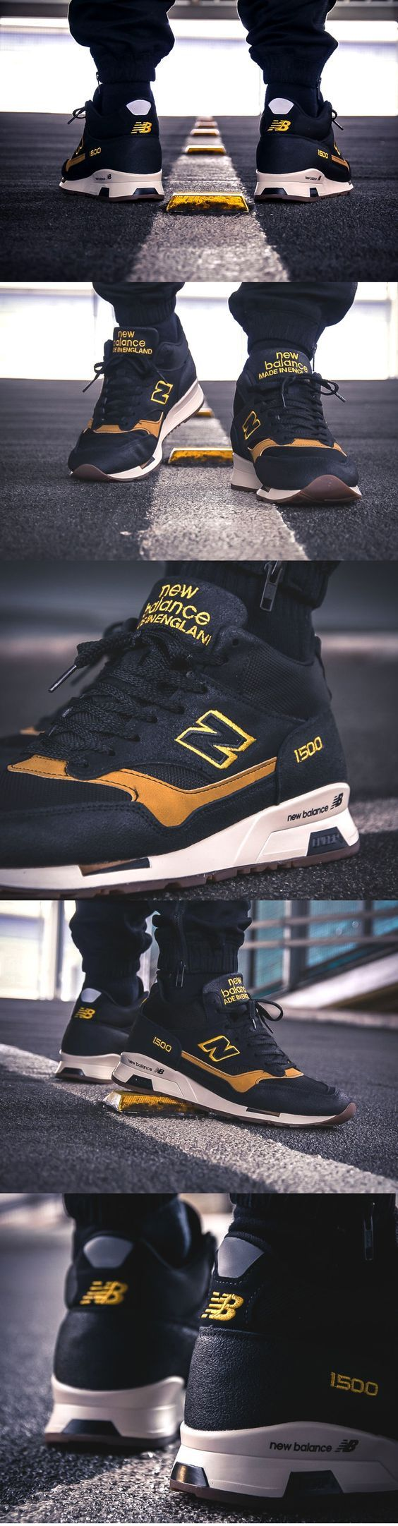 New #Balance MH 1500 KT 'Black Yellow' (made in England ...