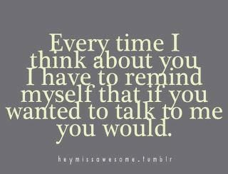 stupid boys... Its never the ones I want to talk to!