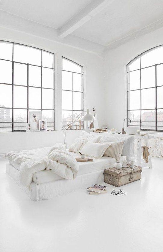 Minimalist All White Room Decor Ideas To Inspire You