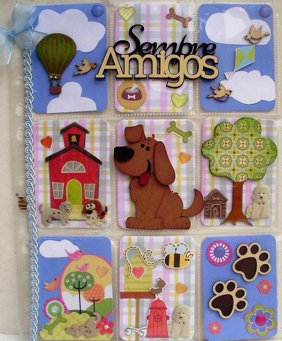 Pocket Letter Dog Theme, made by Elizabeth Sarkis
