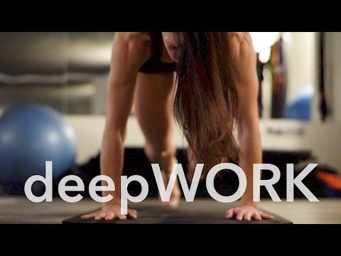 Deepwork Presented By Andrea Toth Wo Youtube Workout How To Know Intense