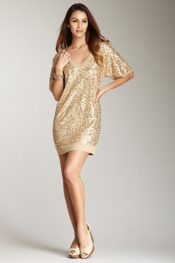 SuperTrash Karty Sequin Embellished Sweater Dress  My Style ...