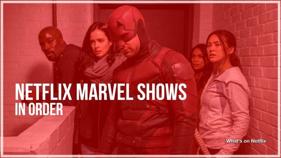 Netflix Marvel shows cancelled.