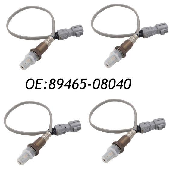New 4pcs Oxygen Air Fuel Ratio Sensor For 2004 2006 Toyota Sienna 3 3l V6 89465 08040 8946508040 2344168 25024420 5s4570 Toyota Sienna Toyota Exhaust Gas