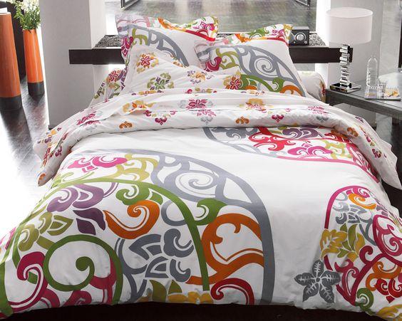 linge de lit arabesques  achat linge de maison, linge de