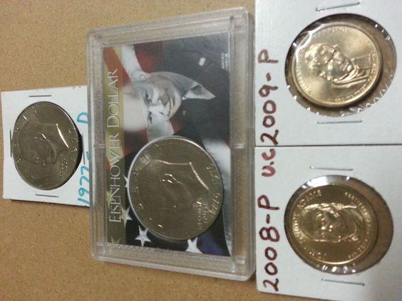 $1 coins Eisenhower Dollar 1776-1976