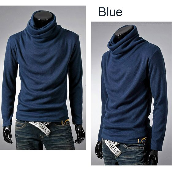 Unknown fabric. A slouchy cowl neck shirt/sweater. Lots of style, if this is your style for $11.99 + 1.99 shipping. From China.