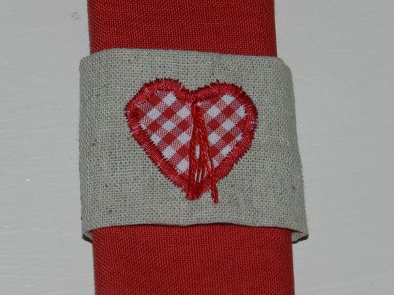 Ronds de serviettes campagne