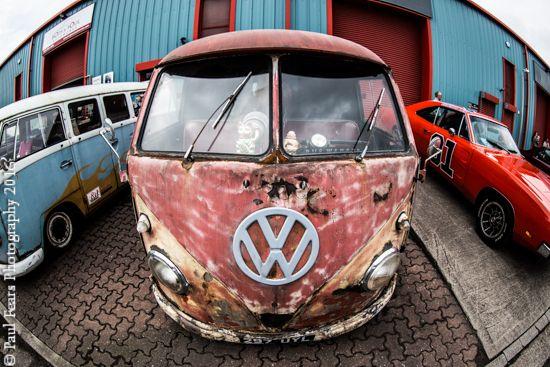 Classic Rusty VW Vans