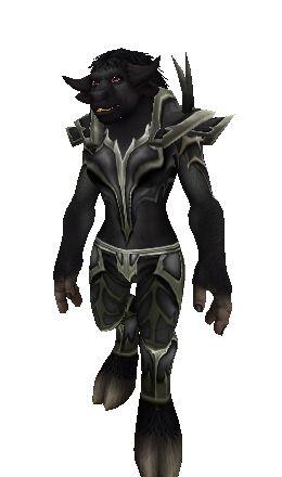Black Dragon Mail - Transmog Set - World of Warcraft