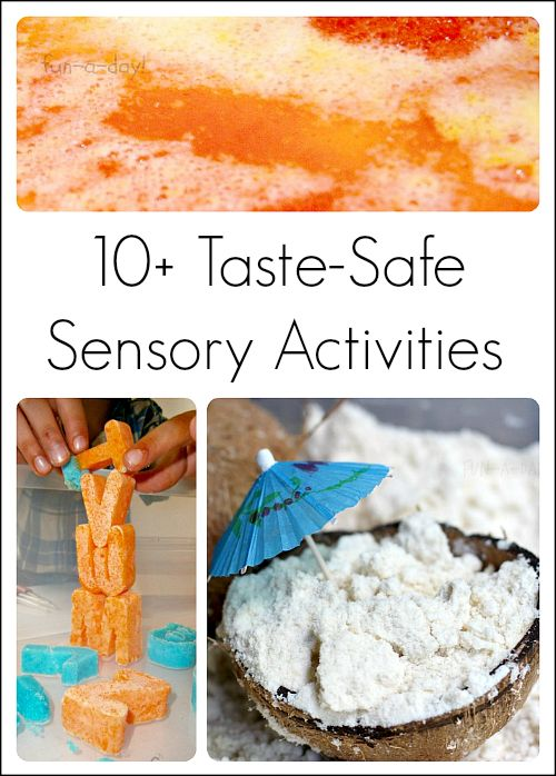 10 taste safe sensory activities for babies and toddlers from fun a