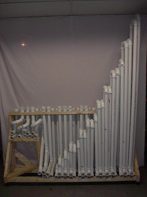 PVC instrument! (Directions at: http://devices.natetrue.com/pvc/pvc.htm ) #instruments
