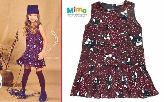 Vestido retro da coleção de outono da lojamima.com.br/loja/Vestido-Yasmim