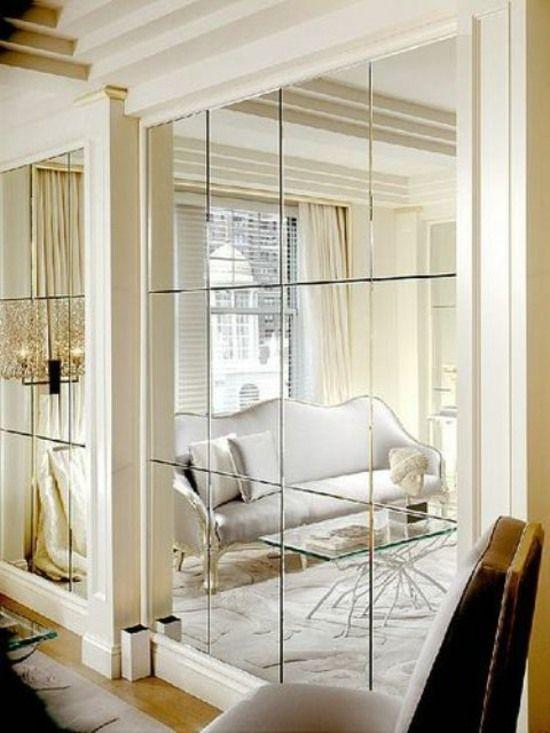Astuces Maison Comment Agrandir Un Petit Espace Miroir Salle A