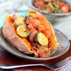 Sweet Potato Shepherd's Pie - This will become your new favorite way to eat sweet potatoes. No joke.