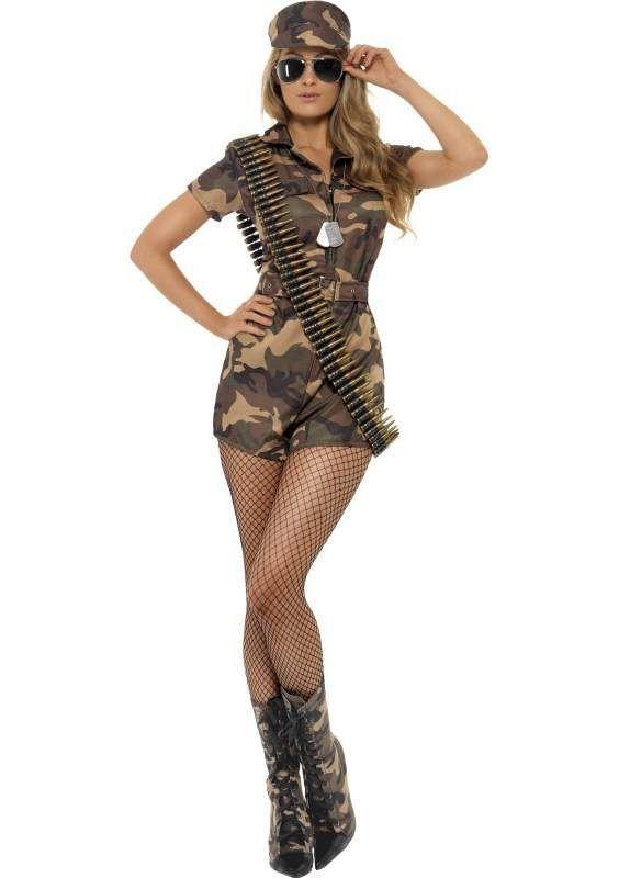Army Girl | Disfraz militar mujer, Disfraz mujer, Disfraz