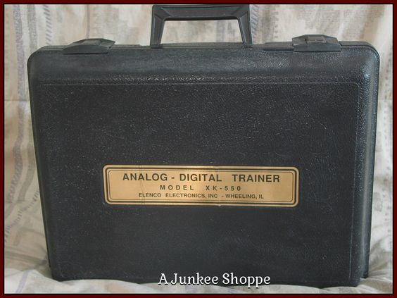 ELENCO Analog And Digital Electronics Student Practice Trainer XK 550 Used  Junk0882  http://ajunkeeshoppe.blogspot.com/