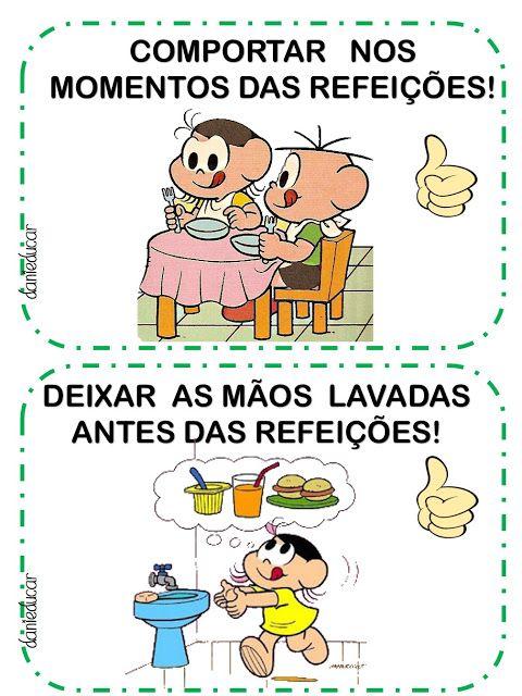 Turma Da Monica Alimentos Saudaveis Com Imagens Turma Da