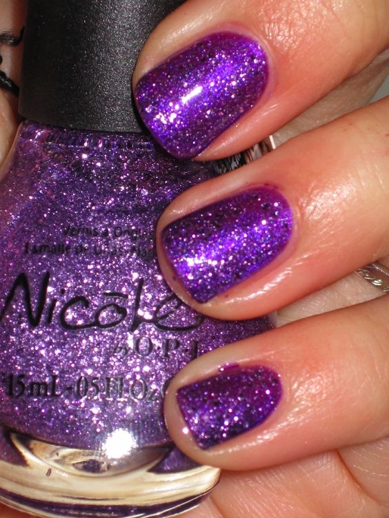 "Nicole by OPI - ""One Less Lonely Glitter""Justin Bieber collection"