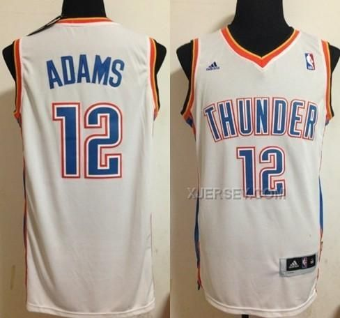 Find Quality Thunder 12 Steven Adams Revolution 30 Swingman White Jersey  and more on. See More. Oklahoma City ... 8eba7cd39