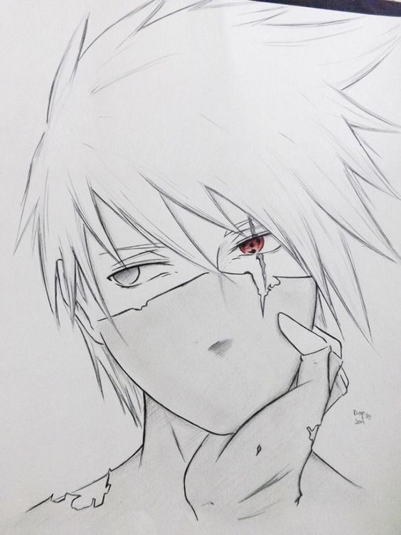 Pin By Simra Ahmad On Anime In 2019 Kakashi Drawing