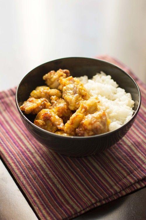 honey chicken..great recipe, boyfriend LOVED it.