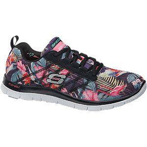 #Skechers #Sneaker #multicolor für #Damen - Memory Foam Innensohle Absatz 3 0 cm Farbe schwarz multicolor…