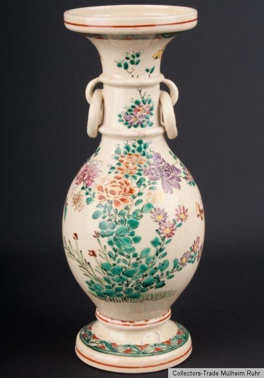 Japan 20. Jh. A Japanese Kyoto Kinkozan Pottery Vase - Japonais Vaso Giapponese