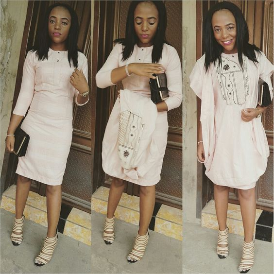 Latest Agbada Styles For Ladies (2018)