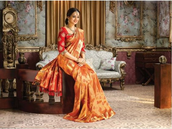 Bhavana for pulimoottil silks abhinava bridal collection bhavana for pulimoottil silks abhinava bridal collection s a r e e s pinterest bridal collection silk and collection altavistaventures Image collections