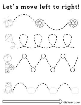 math worksheet : left to right tracing worksheets fine motor skills  fine motor  : Fine Motor Worksheets For Kindergarten