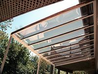Skyvue Clear Roof Patio Cover Pergola Roofing Decks