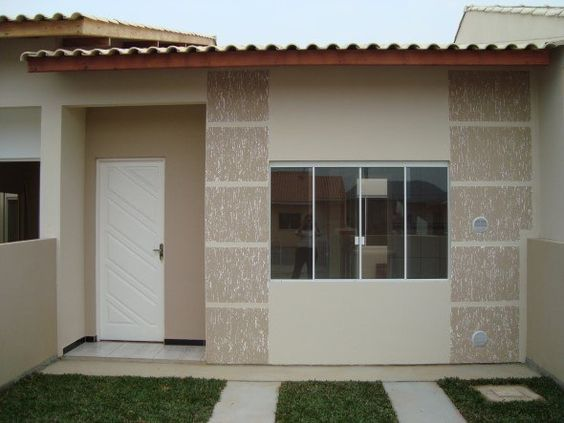 Modelos de fachadas de casas simples por m bonitas for Casas chicas bonitas