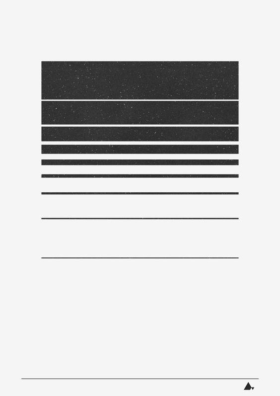 one stripe with letters... minimal, minimalist, minimalism, graphic, design, digital