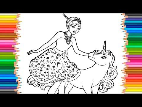 Youtube Unicorn Coloring Pages Princess Coloring Pages Super Mario Coloring Pages