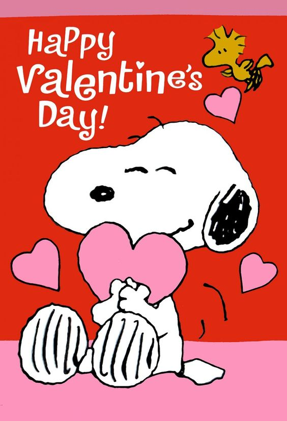 HAPPY VALENTINE'S DAY, SNOOPY: