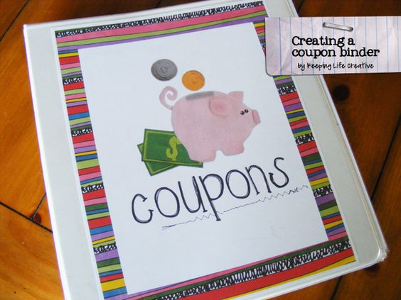 Creating a coupon binder (w/printables)...for those who choose to coupon with a binder...