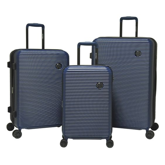 Travelers Club Shanghai 3-piece Hardside Expandable Spinner Luggage Set