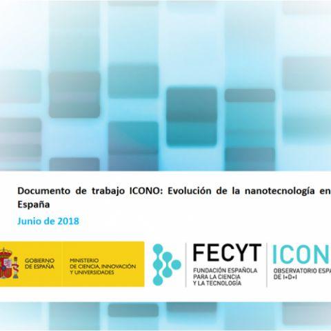 Documento de trabajo: Evolución de la nanotecnología en España | ICONO